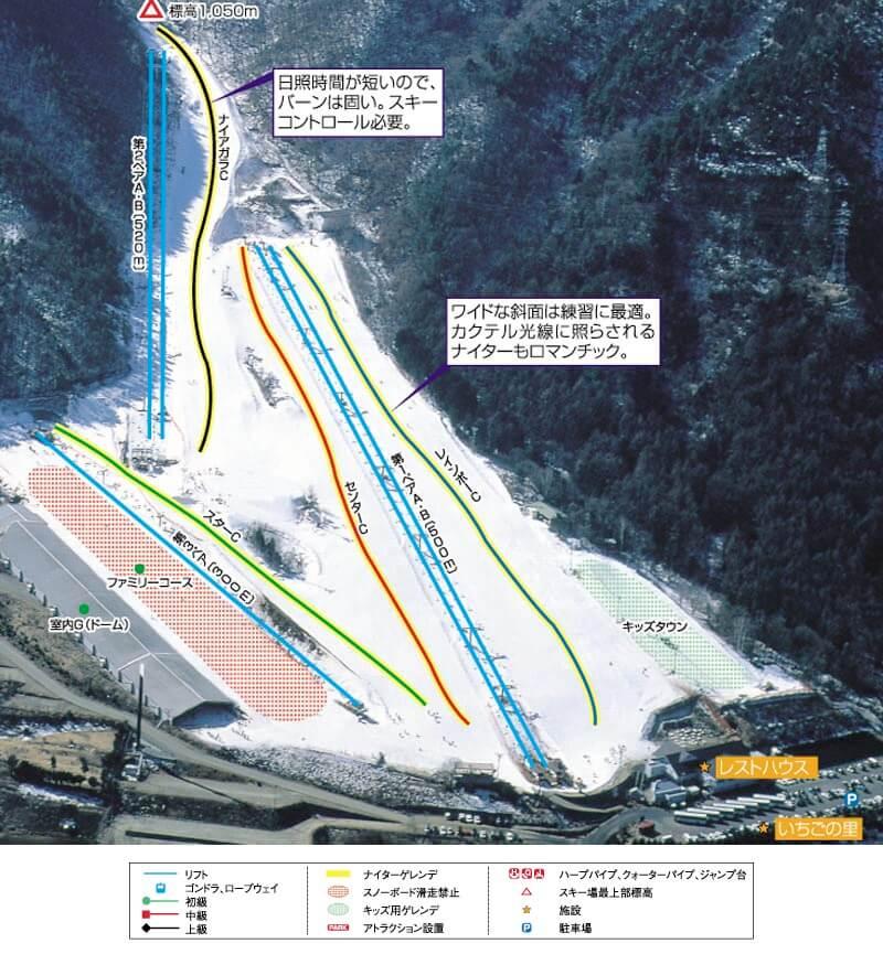 スキー カムイ 場 みさか ご利用料金 首都圏から80分 ファミリーで楽しめるスキー場